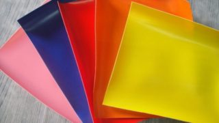 Coated pvc fabric